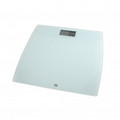 American Weigh Scales Digital Bathroom Scale WWhite Tempered Glass Platform - 330LPWWHT