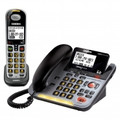 UNIDEN Loud & Clear DECT 6.0 CordedCordless Phone with Digital Answering System & Amplified Audio - D3098S