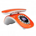 VTECH Dect 6.0 Retro Design Caller ID Speakerphone Orange - LS6195-13