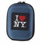 I LOVE NY DCS45 Compact Hardshell Camera Case - Blue - DCS45B2