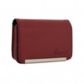 IMPECCA DCS86 Compact Leather Digital Camera Case - Burgandy - DCS86BG