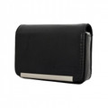 IMPECCA DCS86 Compact Leather Digital Camera Case Black - DCS86K