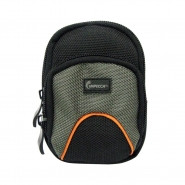 IMPECCA DCS35 Small Soft Camera Case BlackGreen - DCS35