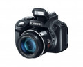"CANON PowerShot SX50 HS 12.1 Megapixel 50x 24mm Wide Zoom 2.8"" Vari-angle LCD High-End, Advanced Digital Camera - 6352B001"