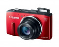 CANON PowerShot SX280 HS 12.1 Megapixel 20x Wide-Angle Optical Zoom 3.0-inch LCD 1080p Full HD Video Built-in Wi-Fi Red - 8225B001
