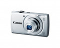 CANON PowerShot A2500 16.0 Megapixel 5x Wide-Angle Optical Zoom 2.7-IN LCD 720p HD Video Silver - 8254B001