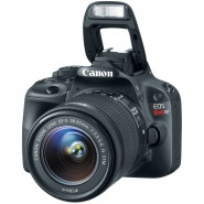 CANON EOS Rebel SL1 18.0 Megapixel with 3-Inch Touch Screen LCD Monitor and 18-55mm IS STM Kit - 8575B003