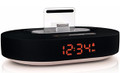 Black iPod/iPhone/iPad clock dock - PHIL-DS1210