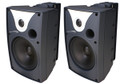 "6"" Outdoor Speaker Black and Trans. Pair - SPC-SP6AWXT"