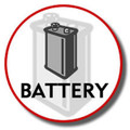 Battery for KX-TG2300 Series   - HHR-P104A-1B