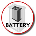 Battery for KX-TG2400 Series   - HHR-P105A