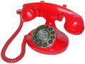 Alexis 1922 Decorator Phone RED - PMT-ALEXIS-RD