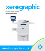 Xerox Docucolor 252 Professional Printing Machine Fantastic Condition with Bustle Rip