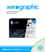 Xerox 106R02137 HP 504X CE250X High Volume Genuine Black Toner Cartridge