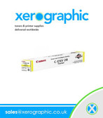 Genuine Canon IRD Yellow Toner Cartridge C - EXV 28 2801B002AB
