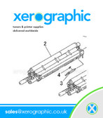 Genuine Developer KIT-HSG DEVE YMC Xerox 550,560,570 DC 700, 700i 604K86350 604K50032 604K50033 604K50031 604K86351