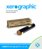 Xerox Phaser 7760 Genuine Yellow Toner  Cartridge 106R01162