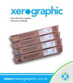 Ricoh MP C5501E MP C5000E CMYK Genuine Full Set Print Cartridges 841457,841459,841458,841583