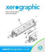 Xerox Versant 2100 Genuine Developer Housing 848K73549, 848K73548, 848K73547, 848K73546, 848K73545, 848K73544, 848K7354, 848K73543, 848K73542, 848K73541, 848K73540