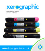 Xerox Phaser 7800 Genuine CYMK Toner Cartridge 106R01566 106R01567 106R01568 106R01569