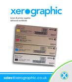 Xerox Docucolor 7000 7000AP 8000 8000AP Genuine Full Set CMYK Toner Cartridge