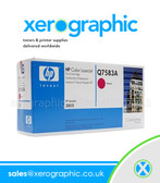 Genuine HP Magenta Print Cartridge - Q7583A