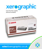 Canon FX1 Black Cartridge Genuine OEM - H11-6221-470