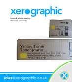 Xerox Genuine Twin Pack Yellow Toner Cartridge 006R01450 (£175)DocuColor 240 242 250 252 260 WorkCentre 7655 7665 7675 7755 7765 7775 - 6R1450
