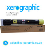 Xerox Genuine High Capacity Yellow Toner Cartridge (£259.00) 106R01438