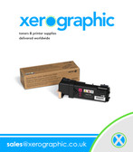 106R01595 Genuine Xerox Phaser 6500/ WorkCentre 6505, Magenta  High-Capacity Toner Cartridge - 106R01595