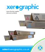 Infotec  ISC 3535/ 4045 CMYK Genuine Full Set Toner Print Cartridges 884942, 884943, 884944, 884945