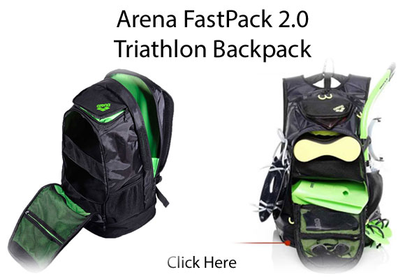 Arena Fastpack Swimming or Triathlon Backpack