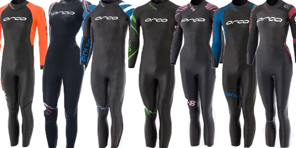 Orca Wetsuits for Triathlon and Open Water Swimming