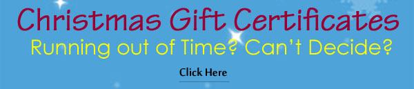 Ezi Sports Christmas Gift Certificates