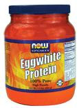NOW FOODS EGGWHITE PROTEIN 454G