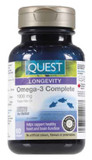 QUEST OMEGA 3 COMPLETE 1000 MG 60 SOFT GELS