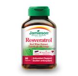 JAMIESON RESVERATROL RED WINE EXTRACT 30 CAPS