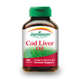 JAMIESON COD LIVER OIL CAPS 100 SOFTGELS