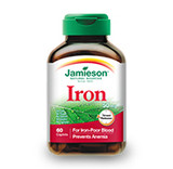 JAMIESON IRON 50 MG TIMED RELEASE 60 CAPLETS