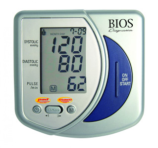 Bios Automatic Advanced Blood Pressure Monitor with Computer Link Technology