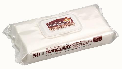TRANQUILITY PERSONAL CLEANSING WASHCLOTHS