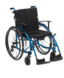 Drive Medical Enigma Spirit Single Axle Wheelchair Blue