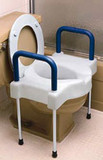 EXTRA WIDE TALLETTE ELEVATED TOILET SEATWITH LEGS