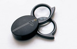 FOLDING DOUBLE LENS POCKET MAGNIFIER