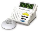 SONIC ALERT BOOM ALARM CLOCK WITH SUPER SHAKER
