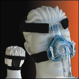 CPAP HEADGEAR H SIMPLE STRAP BLACK