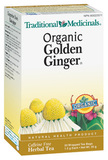 TRADITIONAL MEDICINALS ORGANIC GOLDEN GINGER TEA 20 BAGS