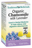 TRADITIONAL MEDICINALS ORGANIC CHAMOMILE WITH LAVENDER TEA 20 BAGS