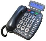 GEEMARC AMPLI500 PHONE WITH SPEAKERPHONE CALLER ID