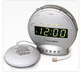 SONIC ALERT PHONE SIGNALER ALARM CLOCK WITH SUPER SHAKER